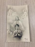 Santino Gesu' Cristo In Ricordo Della Prima Comunione E Della Cresima Di G. Luppi In Modena - Images Religieuses