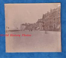 Photo Ancienne - MERS Les BAINS (Somme)- Vue Sur Les Villas - Vers 1900 - Le Tréport Architecture Histoire Patrimoine - Photos
