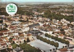 79 - Très Belle Carte Postale Semi Moderne Dentelée De  COULONGES SUR L'AUTIZE   Vue Aérienne  ( A Voyagé ) - Coulonges-sur-l'Autize
