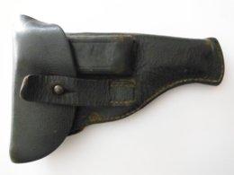 Etui En Cuir Pour Pistolet (RUBY ?) - Decorative Weapons
