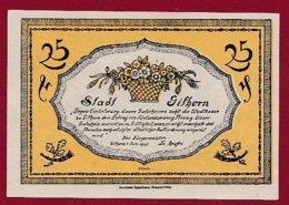 Allemagne 1 Notgeld De 25 Pfenning Stadt Gilhorn (RARE)  Dans L 'état N °4799 - Collections
