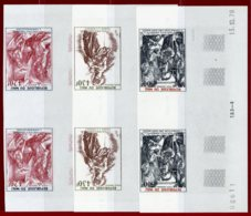 Mali 1978 #C348-50, Imperf Pair, Annunciation By Durer - Mali (1959-...)