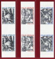 Mali 1979 #C359-61, Imperf Pair, Easter, Etchings By Durer - Malí (1959-...)