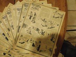 1952  Moustache Et Trottinette ...dans : Le Siège De Kouglofbourg (véritable Histoire)     (Dessins De CALVO), Etc - Livres, BD, Revues