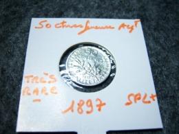 50 CTMES 1897 SUPERBE ETAT TRES RARE!!!!!!!!!!!! - France