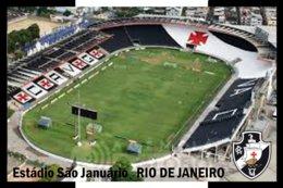 CP. STADE. RIO DE JANIERO  BRESIL  ESTADIO SAO  JUNUARO   # CS.266 - Soccer