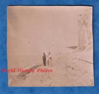 Photo Ancienne - BOIS De CISE ( Somme ) - Couple à La Plage - Vers 1900 - Ault Mers Les Bains Falaise Patrimoine - Photos