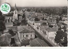 79 - Très Belle Carte Postale Semi Moderne Dentelée De  BRIOUX SUR BOUTONNE   Vue Aérienne ( A Voyagé ) - Brioux Sur Boutonne