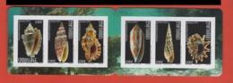 W34 Polynésie °° Carnet 2017 COQUILLAGES C1139 - Carnets
