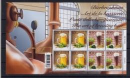 1.- SWITZERLAND 2019 COMPLETE SHEET The Art Of Brewing Beer - Biere
