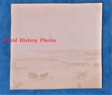 Photo Ancienne - LE TREPORT ( Seine Maritime ) - Vue Sur Le Port - Vers 1900 - Attelage Histoire Patrimoine - Photos