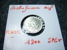 50 CTMES 1900  SUPERBE ETAT TRES RARE!!!!!!!!!!!! - France