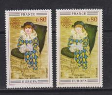 EUROPA FRANCE 1975: Variété De Couleurs Du Y&T 1840 Oblitérés - Europa-CEPT