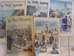 Lot De 5   Le Petit Journal Sur Le Thème  Asie  Tonkin 1910 - Le Petit Journal