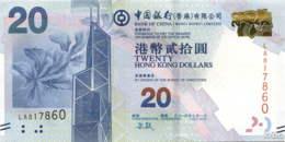 Hong Kong (BoC) 20 HK$ (P341e) 2015 -UNC- - Hongkong