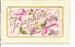 Prénom / Josephine (brodée) - Prénoms