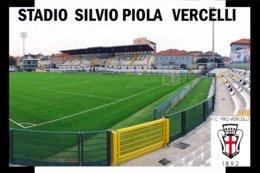 CP. STADE. VERCELLI  ITALIE  STADIO VILVIO PIOLA  # CS.274 - Soccer