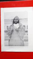 Ancien Document Maroc, Moulay-Hafid Dans La Cour Des Lions Du Dar El Maghzen - Documents Historiques