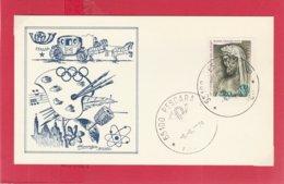 FDC ITALIA 1979 - 308 - CONGRESSO ROTARY - Annullo Pescara 9.6.79. 1 V. Su Cartoncino Non Viagg. - 1946-.. Republiek