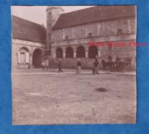 Photo Ancienne - ANGO ( Seine Maritime )- Au Manoir - Vers 1900 - Histoire Patrimoine Attelage Varengeville - Photos