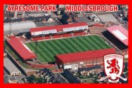 CP. STADE.MIDDLESBROUGH  ANGLETERRE  AYRESOME  PARK    # CS.276 - Soccer
