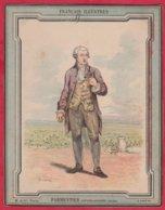 Protége Cahier Ancien Fin XIXéme Collection Des Français  Illustres PARMENTIER - Book Covers