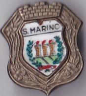 OLD PIN  --  SAN MARINO  --  ENAMEL - Pin's & Anstecknadeln