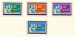 GHANA  -  1968 WHO Set Unmounted/Never Hinged Mint - Ghana (1957-...)