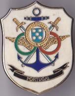 OLD PIN  --  PORTUGAL  --  ENAMEL - Pin's & Anstecknadeln