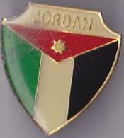 OLD PIN  --  JORDAN  --  ENAMEL - Pin's & Anstecknadeln