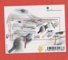 W35 TAAF Antarctique Bloc 2016  Oiseau °° F790 - Blocs-feuillets