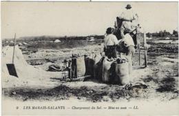 44 Les Marais Salants  Chargement Du Sel  Mise En Sacs - France
