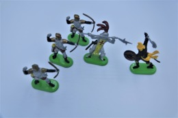 Britains Ltd, Deetail : KNIGHTS Lot Of 5 Figures, Made In China, *** - Britains