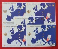 Montenegro 2005; 5 Sheets; Europa CEPT; MNH, Neuf**, Postfrisch!! Face Value 27.50 Euro; CV 100 Euro; - Montenegro