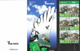 BOSNIA, MUSLIM, 2019, MNH, EUROPA, BIRDS,BOOKLET - 2019