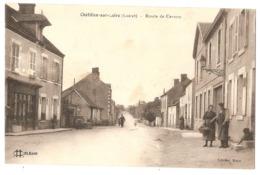 45 - CHÂTILLON-sur-LOIRE - Route De Cernoy - Chatillon Sur Loire