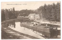45 - CHÂTILLON-sur-LOIRE - Le Canal - Chatillon Sur Loire