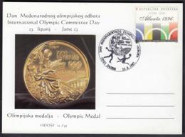 Croatia Zagreb 1997 / International Olympic Committee Day, IOC / Handball, Water Polo, Olympic Medal Atlanta 1996 - Summer 1996: Atlanta