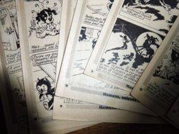 1952  LES MIROBOLANTES AVENTURES De Moustache Et Trottinette Dans AU FAR-WEST   (texte Et Images De CALVO), Etc - Livres, BD, Revues