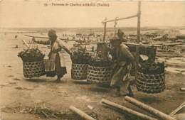 VIETNAM PORTEUSES DE CHARBON A HANOI TONKIN - Vietnam