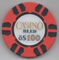 Jeton De Casinò Bled Slovénie öS 100 - Casino