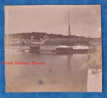 Photo Ancienne - TROUVILLE Sur MER - Le Port - Bateau / Voilier - Vers 1900 - Histoire Patrimoine Normandie Architecture - Photos