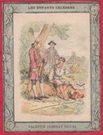 Protége Cahier Ancien Fin XIXéme Collection  Les Enfants Célébres VALENTIN JAMERAY DUVAL - Book Covers