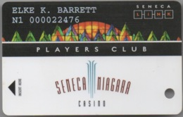 Seneca Niagara Casino : Players Club - Cartes De Casino