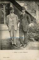 1908 Pioneer Aviation Postcard: Wright Brothers Visit France, Cliché Amiet - ....-1914: Precursors