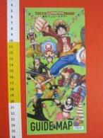 Z.08 JAPAN GIAPPONE DEPLIANT MANGA CARTONI ANIMATI GIORNALE FUMETTI TOKYO TOWER ENGLISH - Pubblicitari