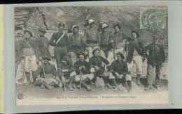 CPA  A La Frontière-Franco Italienne-Bersagliers Et Chasseurs Alpins 2019  Chris  321 - Regimente