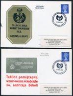 1972 GB 4 X Polish Ex-Service Women Reunion Day Covers/cards. London Poland Military - 1952-.... (Elizabeth II)
