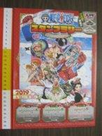 Z.08 JAPAN GIAPPONE DEPLIANT MANGA CARTONI ANIMATI GIORNALE FUMETTI TOKYO NEP EC JUMP SHOP 2 STAMPS CACHET TIMBRI - Pubblicitari