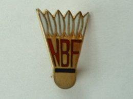 BROCHE BADMINTON - NBF - Badminton